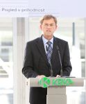 Slovenian Prime Minister Dr Miro Cerar addressed the participants at the official opening of the solid dosage forms production plant, Notol 2.