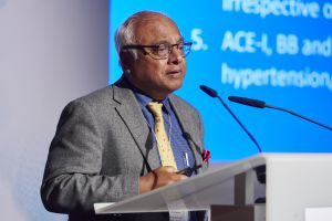 One of the world's most influential opinion leaders in the field of cardiology Prof. Salim Yusuf from Canada delivered an interesting introductory lecture to around 200 experts from 20 countries.
