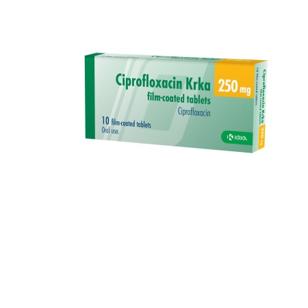 Gastrointestinal infection cipro side