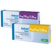 Amlewel 4 mg/5 mg/1,25 mg in 4 mg/10 mg/1,25 mg tablete