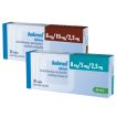Amlewel 8 mg/5 mg/2,5 mg in 8 mg/10 mg/2,5 mg tablete